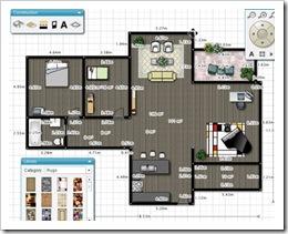 Floorplanner, diseña planos de casas online gratis