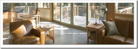 vista interior de casa modular prefabricada method_homes
