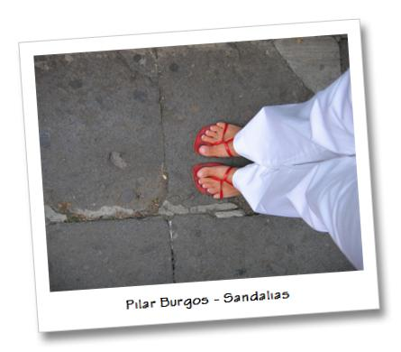 Pilar Burgos - zapatos y sandalias