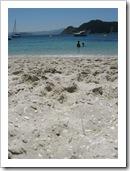 arena playa de nuestra señora islas cies