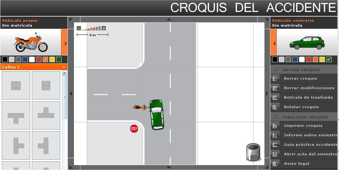 Dibujar croquis de accidentes de tr fico online m s manuti for Dibujar planos online