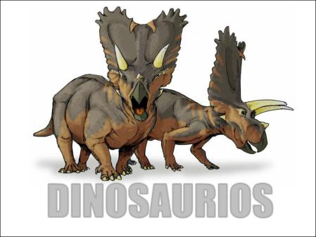presentacion dinosaurios para niños
