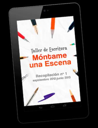 """página de descarga del libro """"Taller de Escritura Móntame una Escena nº1"""""""